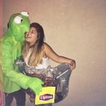 Some people think couple costumes are lame but thats none of our business🐸☕️ http://t.co/EC1hWArfQD