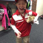 Check out this little Bo, Henry from Elkhorn. cc: @FauxPelini #Huskers http://t.co/uqgk8ro16I