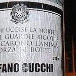 """""""Non mi uccise la morte ma due guardie bigotte. Mi cercarono lanima a forza di botte"""" - De Andrè #Cucchi http://t.co/eqUElIOWGf"""