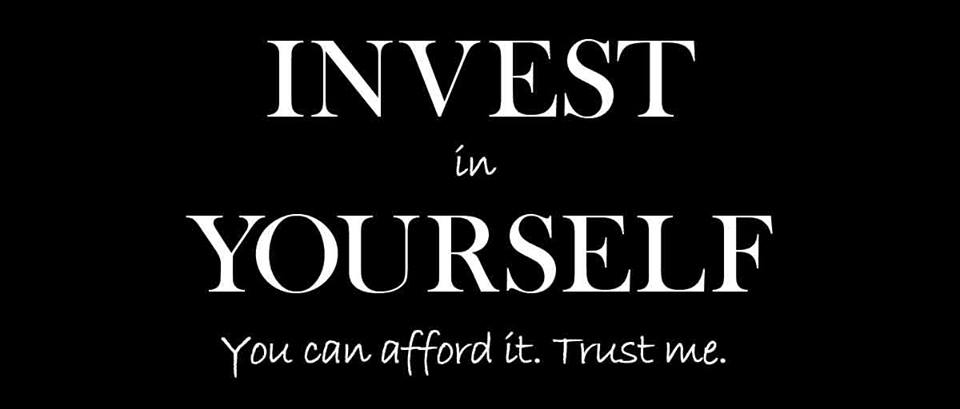 """GREAT! RT @raehanbobby: """"Invest in Yourself. You can afford it. Trust me."""" ~ Love this! . #leadership #quotes http://t.co/mwf6Cvsq4p"""