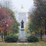 Someone shook up the #NotreDame snow globe a bit early this year! #NDHalloween via @NDadmissions http://t.co/OXnmmLPTAB