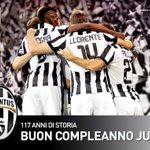 Sabato 1 novembre 2014.. 117 anni fa nasceva la @juventusfc, ovvero la squadra più bella del mondo! #FinoAllaFine http://t.co/XmPDb4PHSk