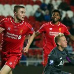 Full-time from St Helens and its #LFCU21s 2-1 Tottenham. Jordan Rossiter with the winner. Ryan Kent got the opener. http://t.co/BBzjoKtbKG