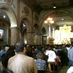 @primereporte En este momento la Iglesia de la catedral llena en el ultimo día de la Virgen del Cisne en Loja http://t.co/A3htk8URea