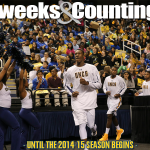 The tunnel awaits… two weeks and counting until the 2014-15 @UNCGBasketball season begins. #letsgoG http://t.co/b6FWXja8pE