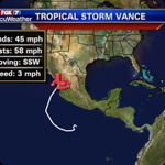 Scott Fisher Says: Projected path of TROPICAL STORM VANCE may help SOAK THE #ATX next week! #ATX #atxweather #austin http://t.co/QrAK9XDnHu