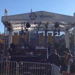 SEC Nation set up on The Quad at Mizzou http://t.co/KjXa0vLYrY