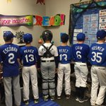 So many Royals costumes in my 5th grade class!  So cool what the Royals did for our kids and city this year! @Royals http://t.co/3vpyGRDOwm
