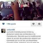 La Corte Constitucional emitió su dictamen sobre las enmiendas a la Constitución http://t.co/qWzd5QhaSP http://t.co/fn3uKoAz9e