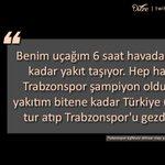 Trabzonspor kafilesini Akhisarspor maçı için İzmire getiren pilotun Başkan İbrahim Hacıosmanoğluna söyledikleri; http://t.co/Ifr2LmgK6G