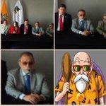 Yo no puedo desconfiar de las resoluciones que toma la Corte Constitucional porque el Maestro Roshi es magistrado. http://t.co/fB1qodIMXp