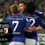 Vorne 1, hinten 0. #Schalke fährt drei Punkte ein! Zum Spielbericht: http://t.co/3FL1frBa24 #S04FCA http://t.co/nBkt3uJK8L