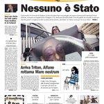 Nessuno è Stato. #laprima del manifesto (con Alias) su Stefano #Cucchi (se state con noi, http://t.co/CT3aTTOSBI) http://t.co/6J9UvYxj0X