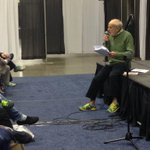 We have the worlds fastest 92 year old, Mike Fremont, on the main stage! #BeMonumental http://t.co/JnU1hSqmsl