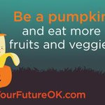 Break from the Halloween candy. Carve a healthier path for your future by filling half your plate w/fruits & veggies. http://t.co/yS7ODHk1TC