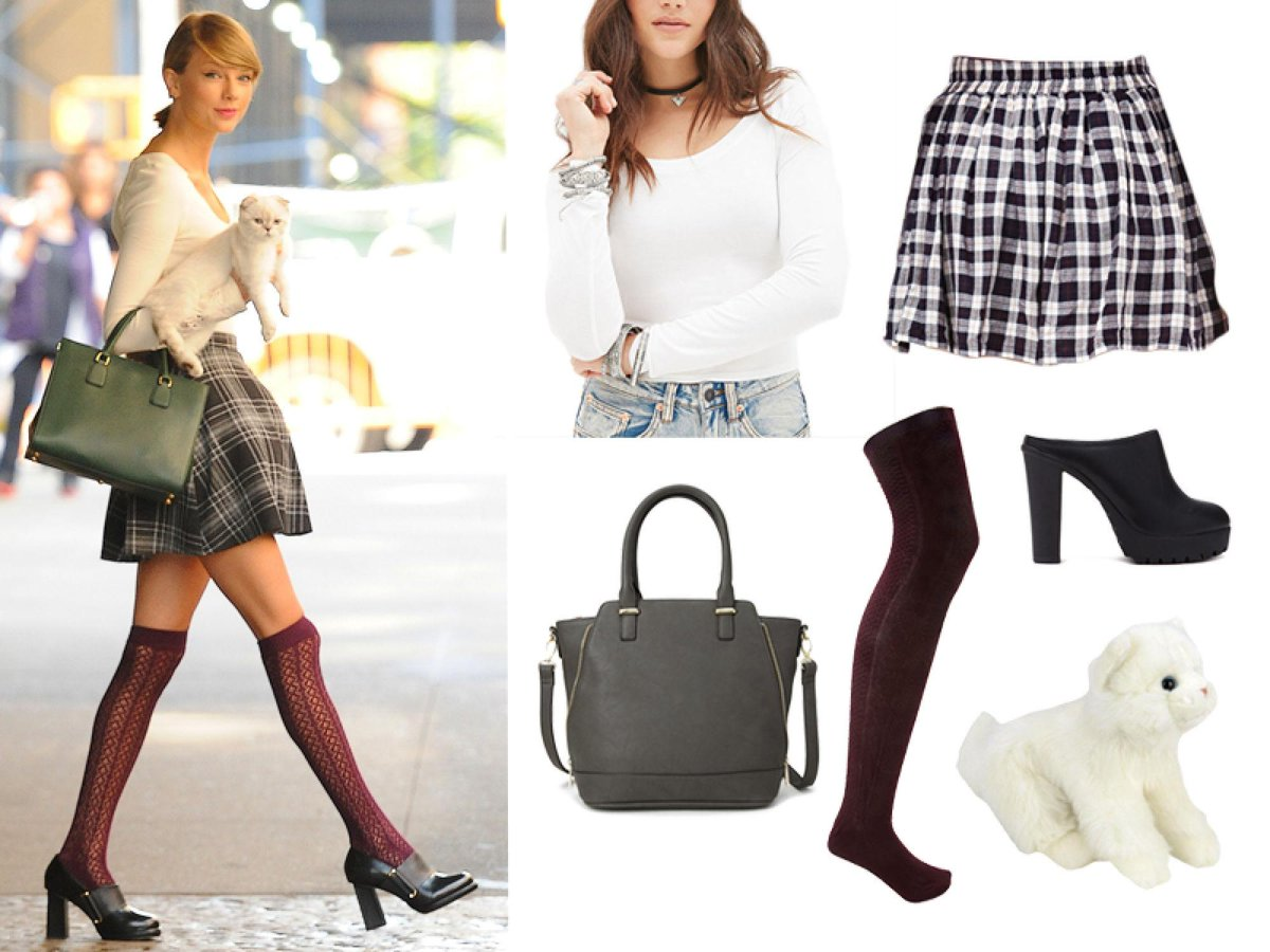 Looking for a super last minute Halloween costume? Go as @Taylorswift13: