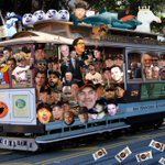 The **Official** 2014 @LOLKNBR World Series parade float! Thanks for a great season, Giants Twitter! Love you guys! http://t.co/Wbu1jPqmW1