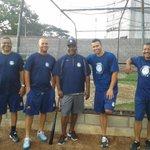 Este es el CT de @LeonesBC Manuel Hdez, Rgo Escobar, William Diaz, Pipe Urueta, Ismael Morales @NoticiasGs http://t.co/Tsd6A6qItP