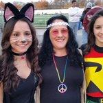 @LancasterSports @LancasterOnline the Strazza family left, Victoria, Linda and Carissa at the Barons football game. http://t.co/yUiEO7SVW1