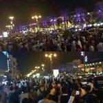 اغلاق شارع التحليه بالرياض الان ، شعب الهلال ???????????? #الهلال http://t.co/VT9pCNQjlQ