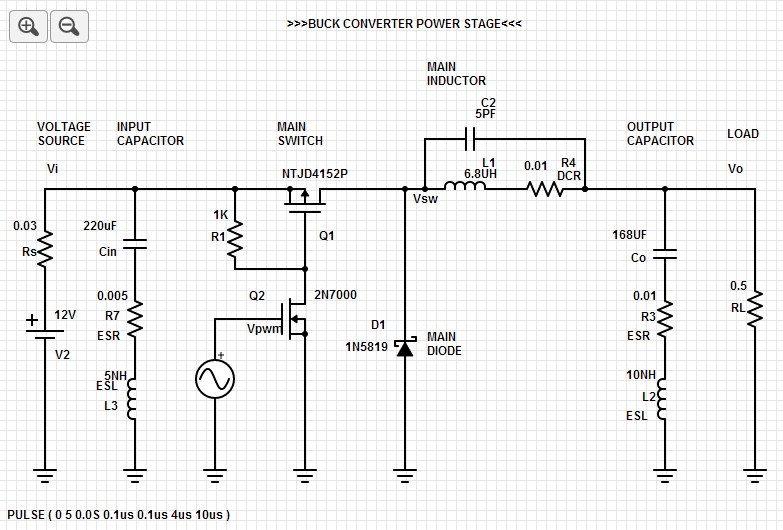 Design of Snubbers for Power Circuits