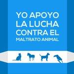 ¡Yo apoyo la lucha contra el maltrato animal Unámonos y compartamos este mensaje. #BienestarAnimalYA http://t.co/l3rQf4XziB