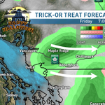 Skies clearing as we get behind the front.. but a few showers still possible #scary #Vancouver http://t.co/shsXQktvuo