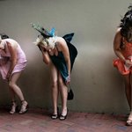 PHOTO: Hold on to your dresses ladies, its going to be a little windy for Derby Day. #derbyday #melbourne @theage http://t.co/1Pwzzonyk4
