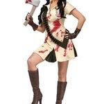 Costume dHalloween de la femme #Sagittaire : Tueuse de zombies. http://t.co/lGlG6mOsPc
