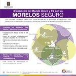 Construimos 3 cuarteles de #MandoÚnico y un C5 fundamentales en la estrategia de seguridad. #MorelosSeguro . #Morelos http://t.co/RCYRw7lR9Q