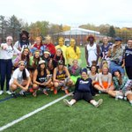 Womens soccer had some Halloween fun with their last practice of the season on Friday afternoon. #Penmen #NE10 http://t.co/oNUcSRVvg7