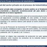 Min.#LuisArce habla del rol que debe jugar el sector privado en la industrialización del país en la UAGRM. http://t.co/lVSNa7V65c