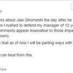 Lights drops Jian Ghomeshi http://t.co/gHacfULBpA