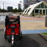 Oh hai @hortus_7seeds ! #coffee stop over along #bicycle lane in Docklands #Melbourne http://t.co/WF2gRvEZ22