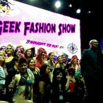 And thats a wrap for the @StanLeeComikaze #geekfashionshow! A real feast for the eyes! Yum! #fashion #style #geeks http://t.co/ZbD96GeVvR