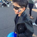 RT @melissarosaph: My son dressed as his favorite movie character terminator @Schwarzenegger