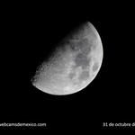 La última luna de octubre 2014, en el cielo de México. ¡Hermosa! http://t.co/Teejcwqnrn