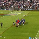 Probably the best renditions of anthems, haka and siva tau Ive ever seen at a #rugbyleague match #4Nations #Samoa http://t.co/Gnu5sBmxpG