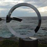 Storm brewing #sydney #sculpturesbythesea http://t.co/ibnvoAJhJU