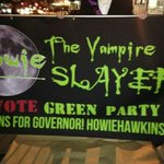 MOREistas walked in the Halloween Parade, showing support for @HowieHawkins and @brainyandbrawny http://t.co/9VLMl8hprw