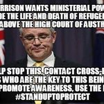 I wouldnt let ReichMinister @ScottMorrisonMP own a pet rat, let alone decide the fate of human beings #auspol http://t.co/yZAtrTzcgY