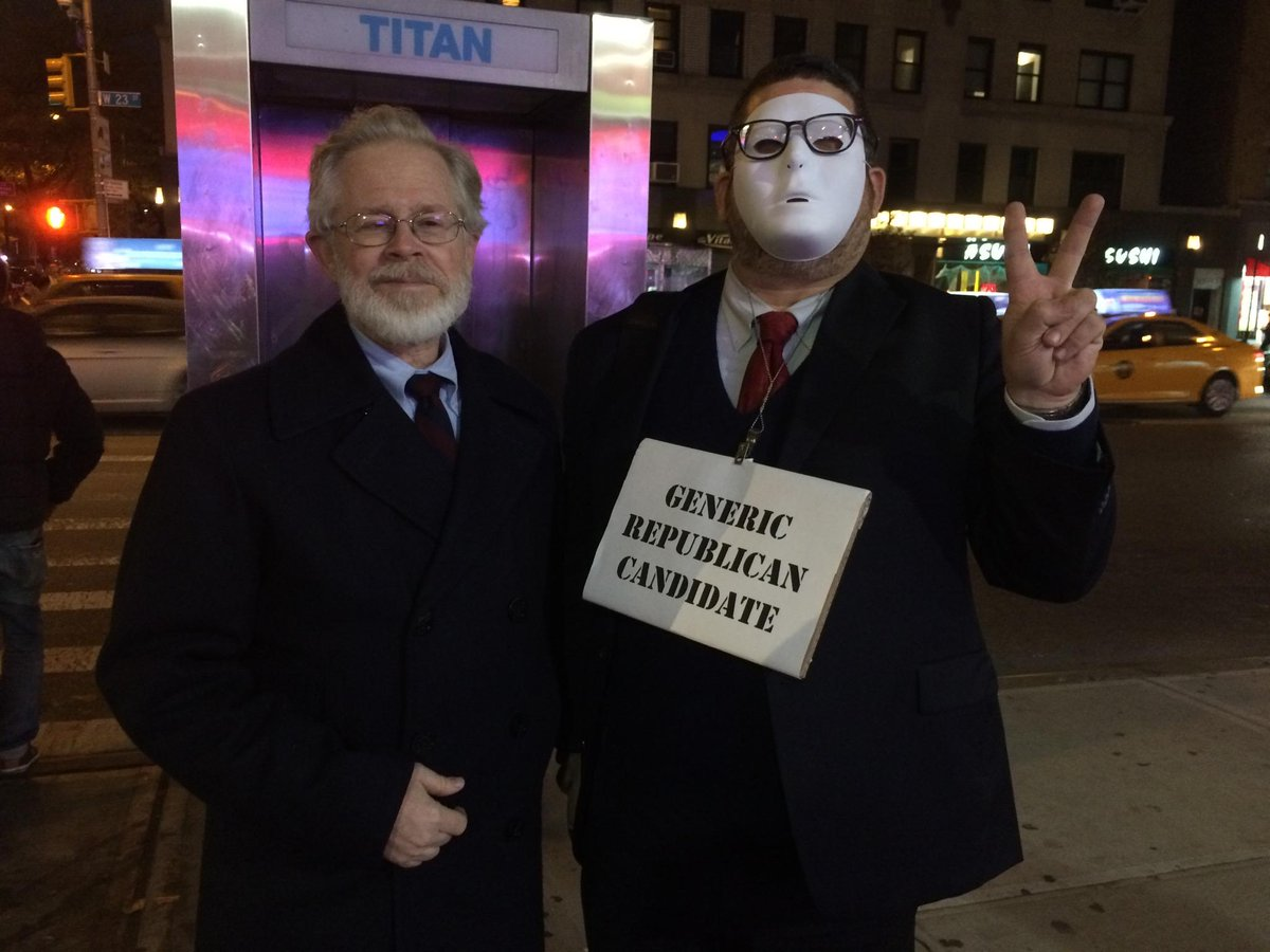 Don't be tricked! This #Halloween, I campaigned in Chelsea to urge NYers to vote on the @WorkingFamilies Party line. http://t.co/1QlG7YbMc5