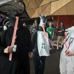 GOAT SIMULATOR COSPLAYERS #PAXaus http://t.co/XgCyuUaflA