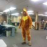And the @newsminer newsroom is home to what the rest of the building voted as funniest costume. Im so jealous. http://t.co/08dyR4qkba