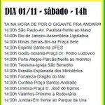 Amanhã as 14 horas....marcha >> PELA ANULAÇÃO DAS ELEIÇÕES...urnas sem recibos, não temos comprovantes de votação. http://t.co/SQghGxnQIW