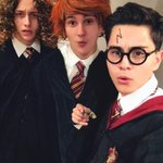 Happy Halloween from Harry, Ron, and Hermione http://t.co/ZDwgBp6Xa8
