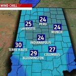 HOWLING WINDS: Wind gust just reached 43 mph at #Indianapolis on this #Halloween night. Wind CHILL 24° #Inwx @FOX59 http://t.co/NcjgGHbUFE