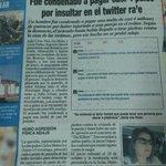 4 palos por insultar en Twitter, ojalá Dos Santos nunca me demande. http://t.co/TWSgIJQ0wc