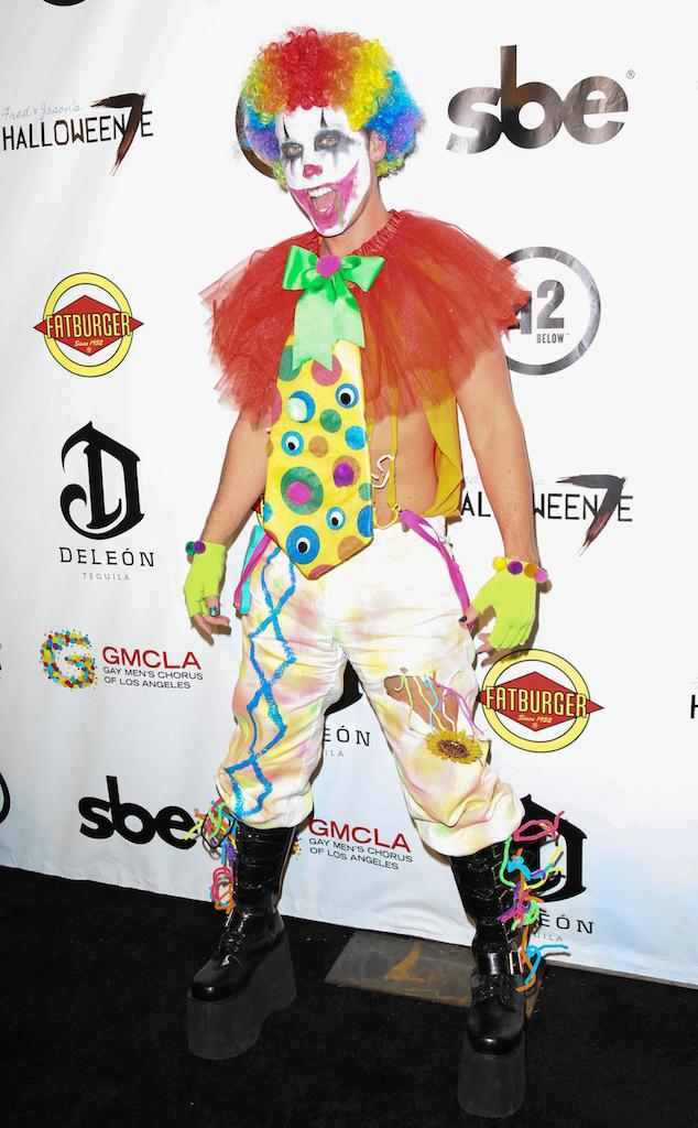 Creepy clown alert! Can you guess these celeb Halloween costumes?