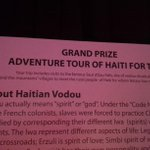 Did we mention the grand prize was an adventure tour for 2 in Haiti. #SpooktacularKW http://t.co/RO4zpdjHqp